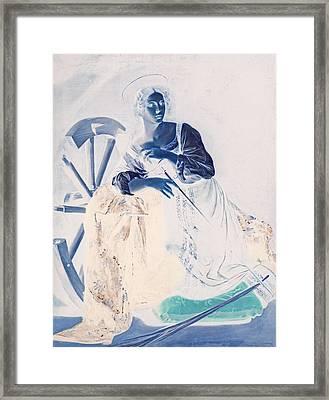 Blend 7 Caravaggio Framed Print by David Bridburg