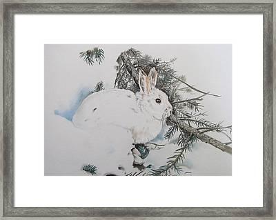 Blending In Framed Print by Turea Grice