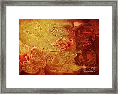 Blending Framed Print by Prar Kulasekara