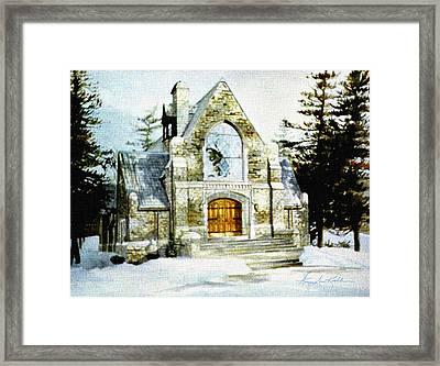 Blenheim Chapel Framed Print
