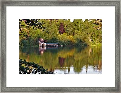 Blenheim Palace Boathouse 2 Framed Print