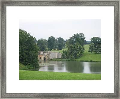 Blenheim Palace Lake Framed Print