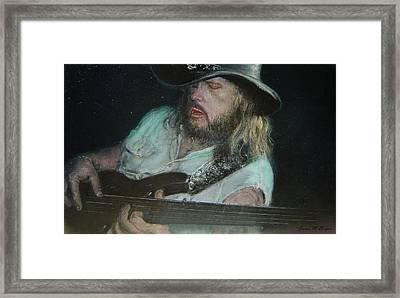 Blues Traveler Framed Print