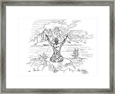 Bless The Lord Framed Print