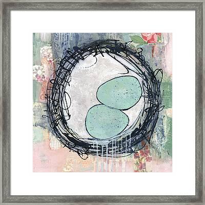 Bless This Nest Framed Print by Blenda Studio