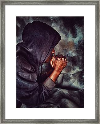 Blessed Are Higher Thoughts Framed Print