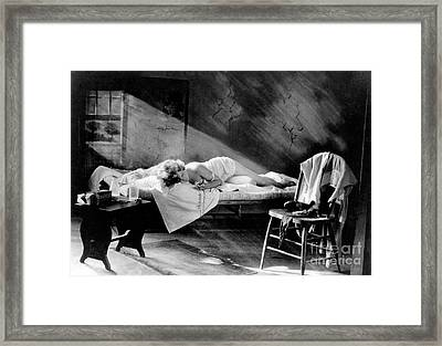 Blessed Are The Pure, Nude Model, 1923 Framed Print by Science Source