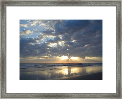 Blessed New Day Framed Print
