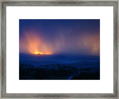Blessed To Be Born On 6.6. Framed Print by Frank Vigneri
