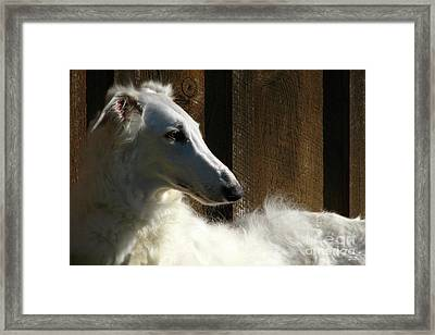 Blessed To Have Her Framed Print by Deborah Johnson