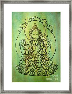 Blessing   Framed Print