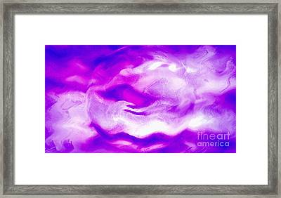 Blessing In Disguise Framed Print by Krissy Katsimbras