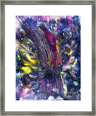 Blessing Of Freedom Framed Print by Heather Hennick