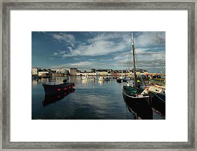 Blessing Of The Bay Framed Print