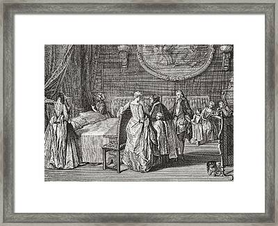 Blessing Of The Marriage Bed Framed Print