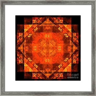 Blessing Framed Print by Oni H