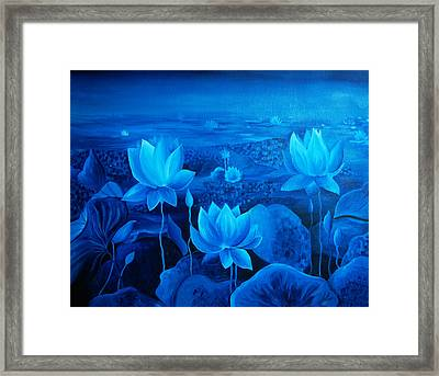 Blessing Framed Print by Ramneek Narang