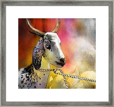 Blessings Be Upon You Framed Print by Miki De Goodaboom