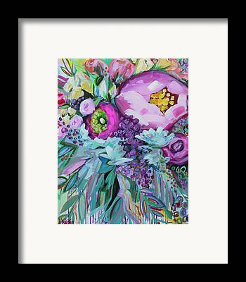 Bright Floral Framed Prints