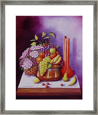 Framed Print featuring the painting Blessings by Gene Gregory