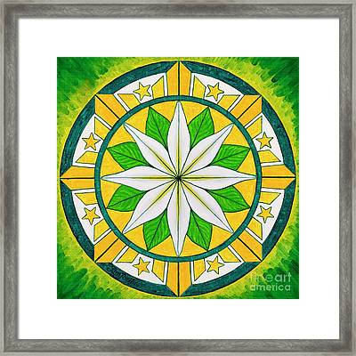 Blessings Of Kapayapaan/bendiciones De La Paz Framed Print