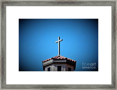 Framed Print featuring the photograph Blessings To Everyone Of All Faiths by Ray Shrewsberry
