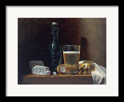 Table-cloth Framed Prints