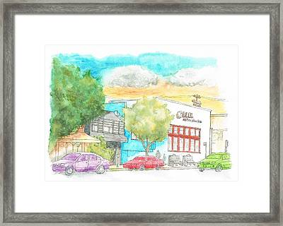 Blick Art Material, Los Angeles, California Framed Print