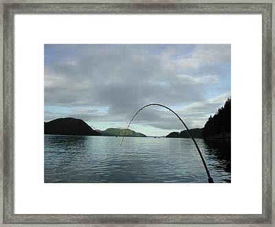 Hisnit Inlet And Sunny Bligh Framed Print