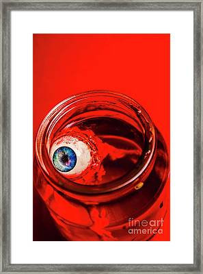 Blind Fear Framed Print by Jorgo Photography - Wall Art Gallery