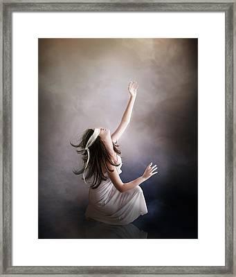 Blind Framed Print by Mary Hood