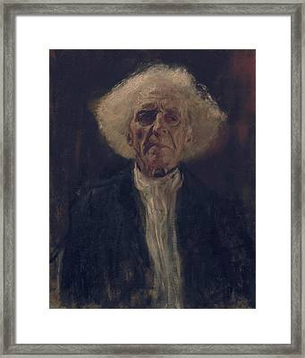 Blind Man Framed Print by Gustav Klimt