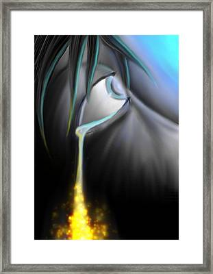 Blind Sight Framed Print by Nicholas Sharpe