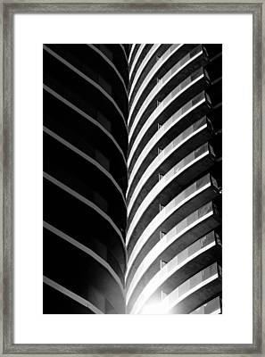 ...blinded By The Light... Framed Print