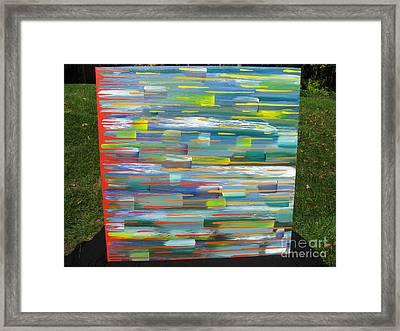 Blindsided Framed Print