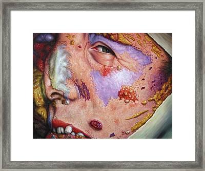 Blindsided Framed Print by James W Johnson