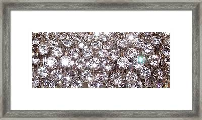 Bling Framed Print by Anna Villarreal Garbis