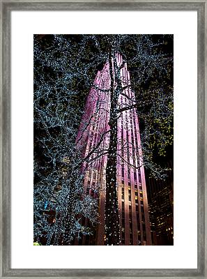 Bling Framed Print by Az Jackson