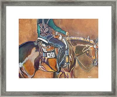 Bling My Ride Framed Print