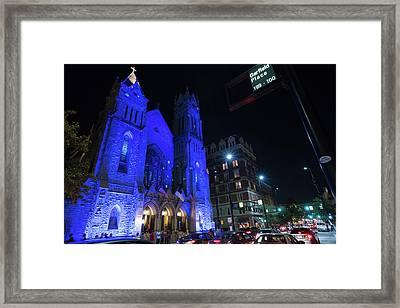 Blink Cincinnati - Covenant First Presbyterian Church Framed Print
