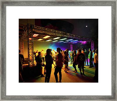 Blink Cincinnati - Luminous Ether Framed Print