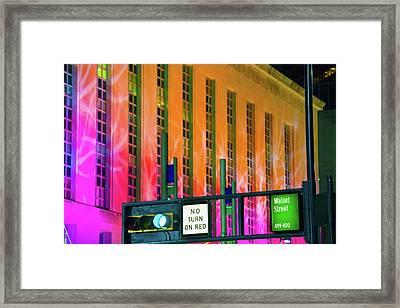 Blink Cincinnati - Potter Stewart U.s. Courthouse Framed Print