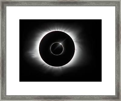 Blinkless Framed Print