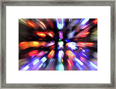Blinky The Star Framed Print