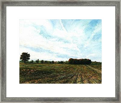 Bliss Road Framed Print by Steven Hawkes