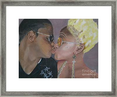 Bliss Framed Print by Tyrell Wade