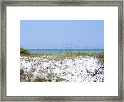 Blissful Dune Framed Print by James Granberry