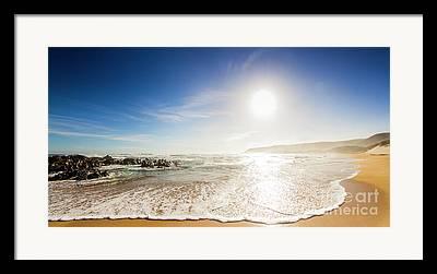 Dream Bay Framed Prints