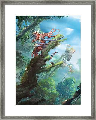 Blisterpod Framed Print by Ryan Barger