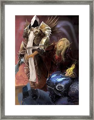 Blizzard Fanart Framed Print